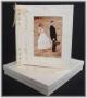 A3 Photo Album White With Gold Tinsel Flecks