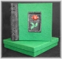 A5A Photo Album Green Rose