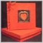 A5A Photo Album Red Heart