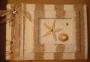 A5 Guest Book PL Sand Brown Stripe