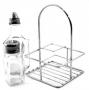 C11 4-Bottle Oil and Vinegar Square
