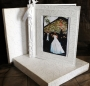 A3 Photo Album White Embossed