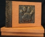 A4 Photo Album Paw Print Orange