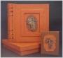 A5A Photo Album African Map Orange