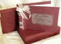 A5 Guest Book A11 Maroon