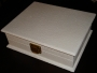 A5 Guest Book Wooden White